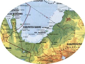 fakfak-hms-nabire-map