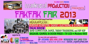 FAKFAK FAIR 2013